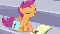 "Scootaloo ""Rainbow Dash proved her innocence"" S7E7"