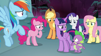 "Spike ""we're just as trapped as Tirek?"" S8E25"