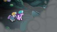 Starlight and Maud watch the wall collapse S7E4