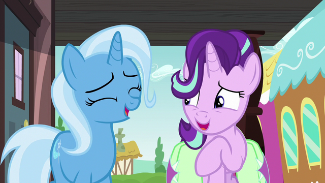 File:Starlight and Trixie sharing a laugh S7E2.png