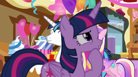 Twilight Sparkle deep in thought S5E19