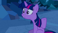 Twilight realising the real Princess Cadance S2E26