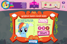 AiP Rainbow Dash game