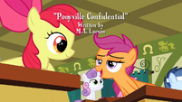 "Apple Bloom and Scootaloo ""such a good idea"" S2E23"