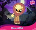 Applejack Nightmare Night promotion MLP mobile game.png