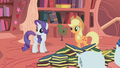 Applejack and Rarity staring offscreen S1E8.png