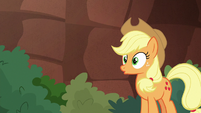 Applejack realizing -oh- S8E23
