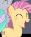 Candy Mane cheering for Fluttershy S4E14.png