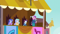 """Dean Cadance """"Canterlot is off to an early lead"""" EG3.png"""