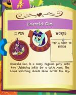 Emerald Gem album MLP Gameloft