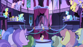 Everyone gasps at Celestia's disappearance S1E01.png