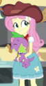 Fluttershy cowgirl outfit ID EGS1