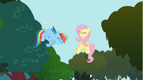 Fluttershy getting hurt S01E10