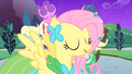 Fluttershy in front of Twilight S1E26.png