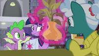 Librarian Pony immediately recognizes Twilight S9E5