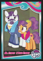 Mr. Stripes & Plaid Stripes Enterplay series 4 trading card
