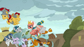 Pillars of Old Equestria charging into battle S7E26.png