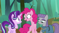 "Pinkie Pie ""so I don't lose you again"" S7E4"