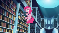 Pinkie Pie checking books S3E1