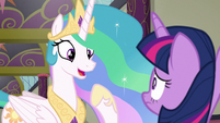 "Princess Celestia ""you've never run a school"" S8E1"
