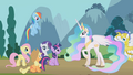 Princess Celestia 'emergency in Fillydelphia' S1E10.png