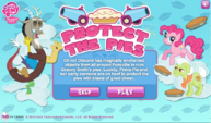 Protect the Pies game title screen