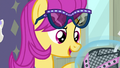 """Pursey Pink """"are you a fashion psychic?"""" S8E4.png"""