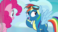 "Rainbow Dash ""I have to take Tank to the vet"" S7E23"