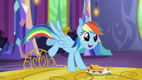 "Rainbow Dash ""there's gonna be cider?!"" S5E3"