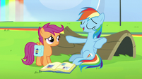 Rainbow Dash -I can fall asleep anywhere- S7E7
