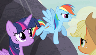Rainbow Dash -some sort of horrific monster- S5E1