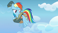 Rainbow Dash about to follow her cutie mark S6E24.png