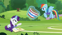 "Rarity ""I held my bucket and everything!"" S8E17"