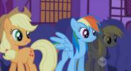 S01E06 Applejack, Rainbow i Derpy