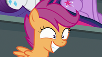 Scootaloo grinning with great excitement S8E20