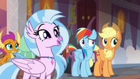 "Silverstream ""our professors built bridges"" S8E9"