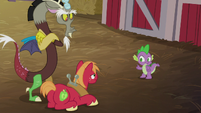Spike -she can't break up with you- S8E10