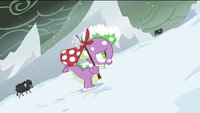 Spike in the snow S2E21