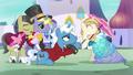 Stallion kisses the pony's hoof S5E14.png