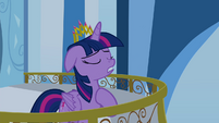 Twilight with hoof on her heart S4E25