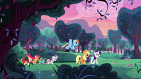 AJ, Rainbow, Rarity, and CMCs on the farm S6E14