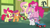 "Apple Bloom ""this is all your fault, Scootaloo!"" S8E12"