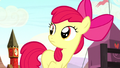 Apple Bloom hears Sheriff Silverstar S5E6.png