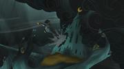 Arimaspi escapes the castle S5E8