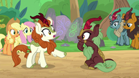 Autumn Blaze interprets -baby fish- S8E23