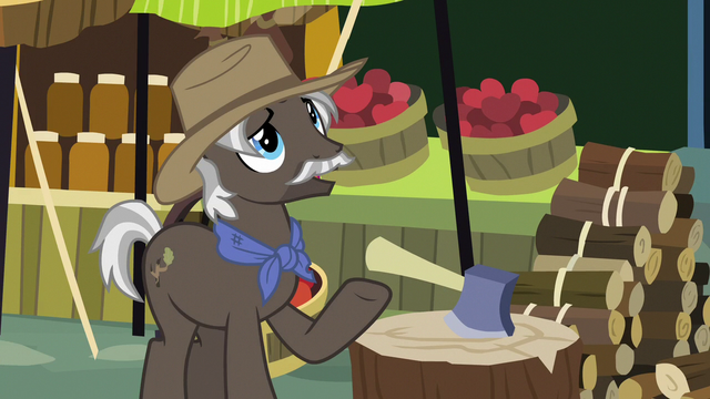 """File:Burnt Oak """"worked the Apple farm all day"""" S7E13.png"""