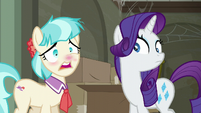 Coco Pommel about to sneeze again S6E9