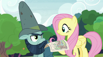 Fluttershy and Big Daddy working together S7E5