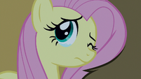 Fluttershy cracks one eye open S6E15