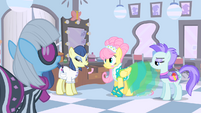 Fluttershy finally has the right amount of blush on S1E20